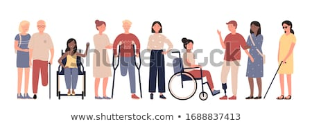 Person in Wheelchair stock photo © iqoncept
