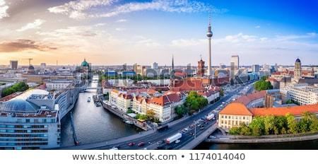 ベルリン ドイツ 鳥 眼 ストックフォト © inarts