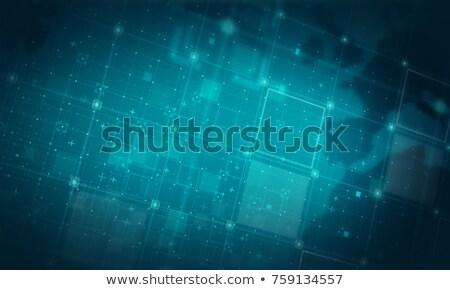 ニュース 暗い デジタル 文字 青 色 ストックフォト © tashatuvango