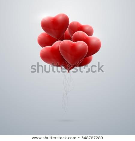 siluet · aşıklar · öpüşme · fotoğraf · genç · kadın · adam - stok fotoğraf © adrenalina