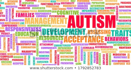 Autism Concept Foto stock © kentoh