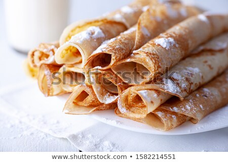 Rolled pancakes Stock photo © grafvision