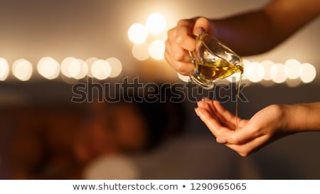 woman massaging hands Stock photo © diego_cervo