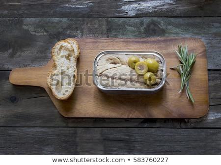 albacore in olive oil  Stock photo © marimorena
