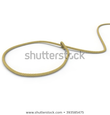 noose on the floor stock photo © stokkete