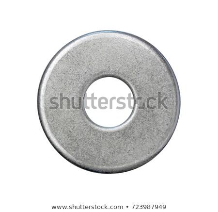 Metal máquina de lavar branco textura construção industrial Foto stock © dezign56