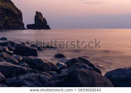 The Talisker bay after sunset Stock photo © elxeneize