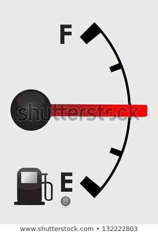 felirat · benzin · árak · benzinkút · égbolt · utazás - stock fotó © alexmillos