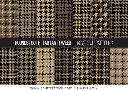Fabric with a checked pattern in brown tones Stock photo © Zerbor