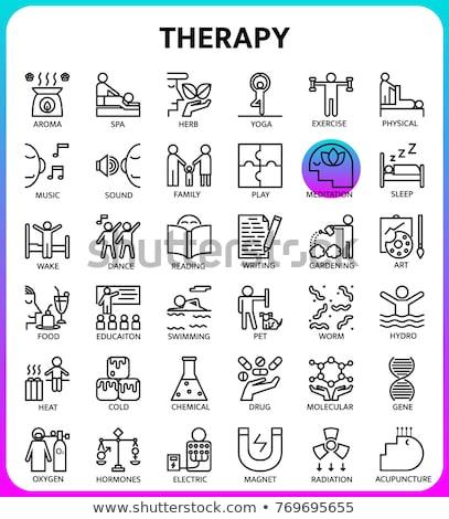 Conjunto terapia Foto stock © aza