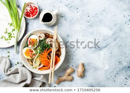 lahana · et · tava · yaprak · akşam · yemeği · plaka - stok fotoğraf © tycoon