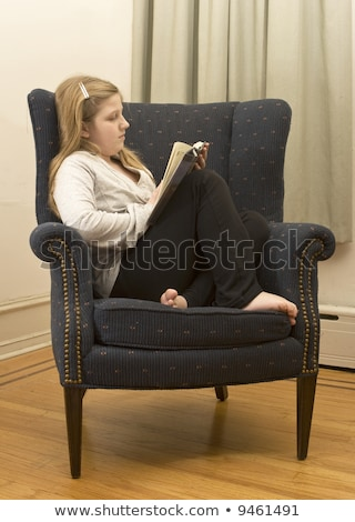 Curl Up with The Good Book Stock photo © JamiRae