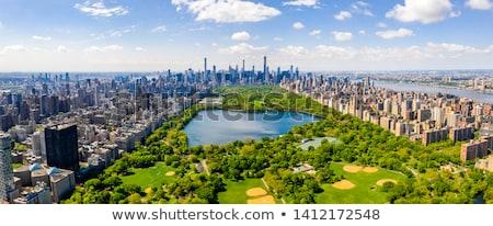 водохранилище · сторона · Запад · зданий · Skyline · Америки - Сток-фото © rmbarricarte