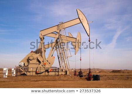 North · Dakota · olie · pompen · machine · gebruikt - stockfoto © cboswell