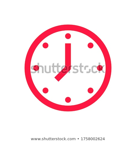 gear red vector icon design stock photo © rizwanali3d