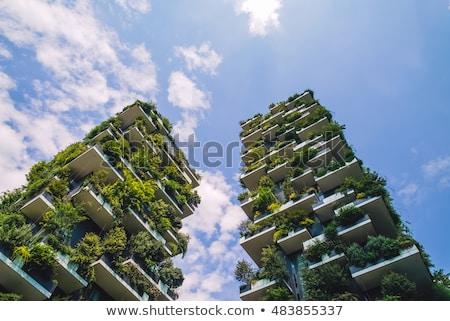 vállalati · épületek · néhány · város · üzlet · központ - stock fotó © vwalakte