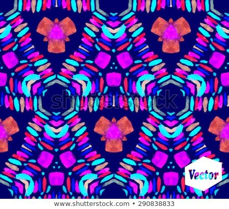 graffiti paint splatter pattern in multiple pink Stock photo © Melvin07
