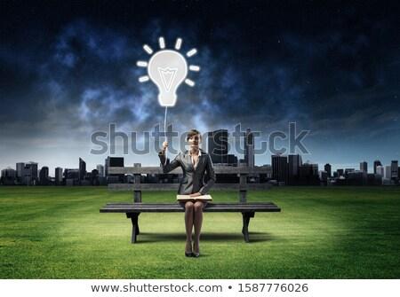 negócio · consulta · céu · festa · reunião · empresário - foto stock © Paha_L