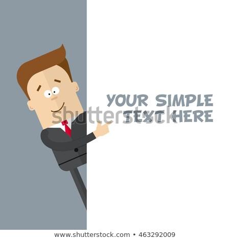 óriásplakát · hely · szöveg · 3d · render · üzlet · marketing - stock fotó © nobilior