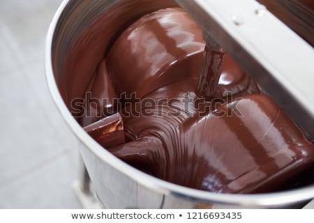 machine for mixing chocolate stock photo © deyangeorgiev