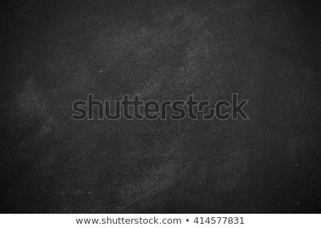 Tableau noir écrit papier texture bois carte Photo stock © pedrosala