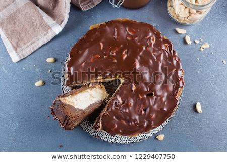 delicioso · caramelo · amendoim · comida · sobremesa · nozes - foto stock © digifoodstock