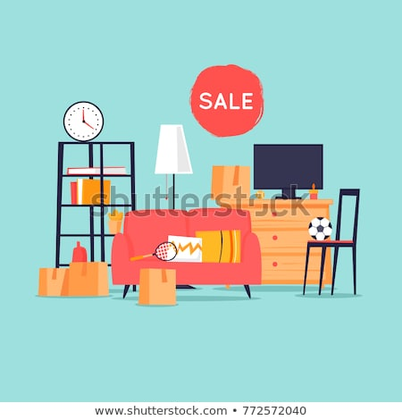 Rood · korting · stickers · ingesteld · business · papier - stockfoto © thomasamby