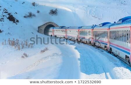 Drogowego tunelu ilustracja krajobraz ulicy tle Zdjęcia stock © bluering