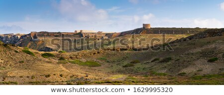Península la paisagem pó revista Foto stock © tuulijumala