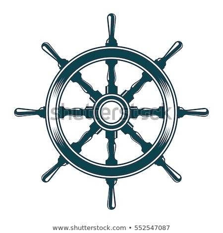 denizci · deniz · simgeler · yalıtılmış · beyaz · deniz - stok fotoğraf © cidepix