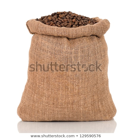 hessian coffee bag stock photo © kitch