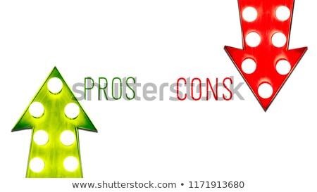 Decyzje działalności kobieta interesu Zdjęcia stock © RAStudio