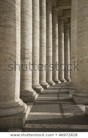 Chandeliers in an colonnade Stock photo © alessandro0770