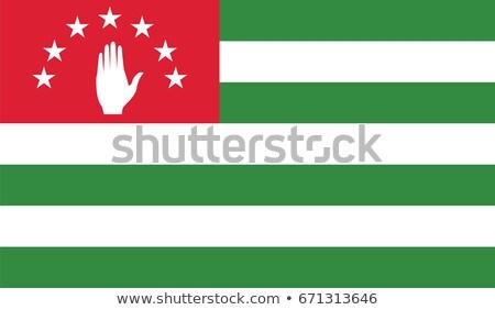 флаг вектора изображение бумаги стороны дизайна Сток-фото © Amplion