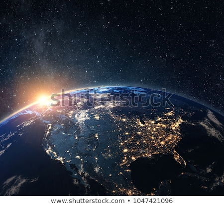 Planet Earth - USA stock photo © ixstudio