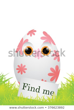 Find me! Easter egg. Stock photo © Zela