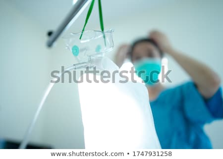 zuurstofmasker · leraar · studenten · meisje · kinderen - stockfoto © wavebreak_media