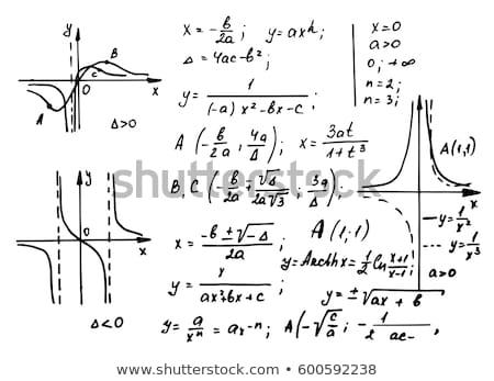 Matemáticas fórmulas dibujo matemáticas número símbolo Foto stock © wavebreak_media