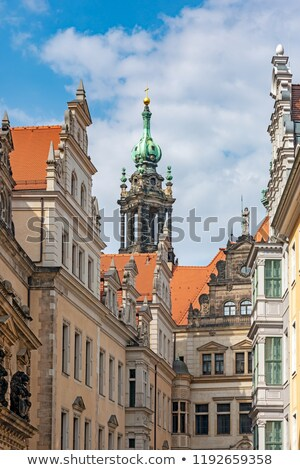 hofkirche and residential castle in dresden stock photo © manfredxy