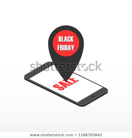 Teléfono marcador black friday Internet diseno Foto stock © AisberG