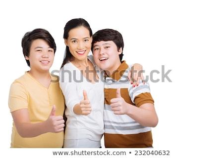 zespołu · młodych · ludzi · stwarzające · stylu · stałego · ręce - zdjęcia stock © deandrobot