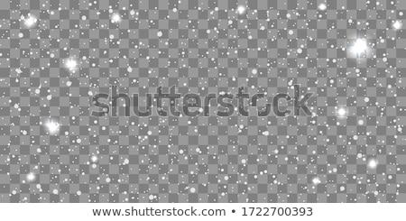Karácsony hóesés átlátszó hó zuhan sötét Stock fotó © romvo