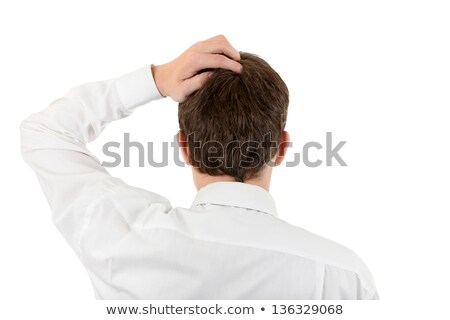 Man Scratching His Neck Stock photo © AndreyPopov