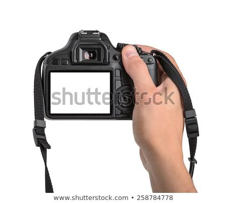 Fotós digitális fényképezőgép elvesz fotó férfi készít Stock fotó © robuart