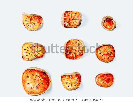 gyümölcs · dzsúz · por · fából · készült · egészség · gyógynövény - stock fotó © galitskaya