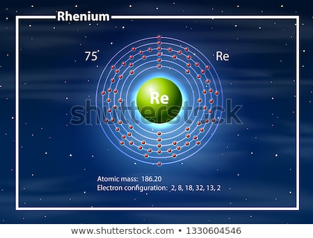 Chimiste atome diagramme illustration design fond Photo stock © bluering