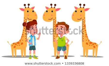 rajz · illusztráció · baba · dinoszaurusz · mosoly · zöld - stock fotó © pikepicture