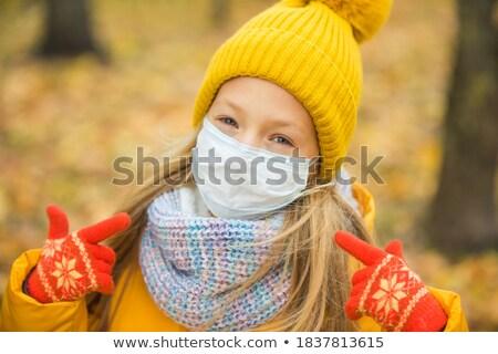 cabelo · cair · crianças · criança · mão · perdido - foto stock © szefei