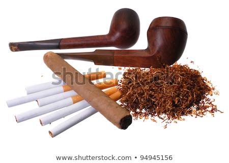set · sigarette · diverso · isolato · bianco - foto d'archivio © netkov1