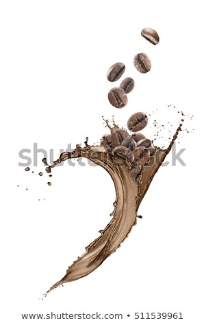 Raining Coffee Beans Stock photo © Spectral